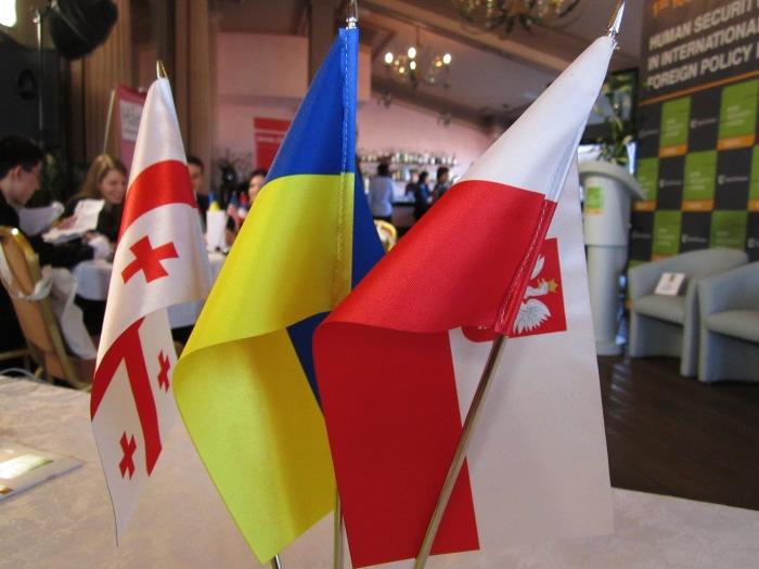 Gruzja, Polska, Ukraina