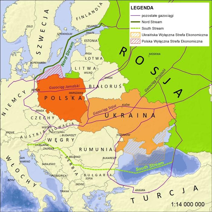 Tak powstaje gazociągowa obręcz dla Europy Środkowo-Wschodniej. Najwyraźniej jest na rękę francuskiemu Totalowi
