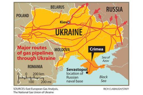 Gaz z Rosji raczej nie przestanie szybko płynąć przez Ukrainę
