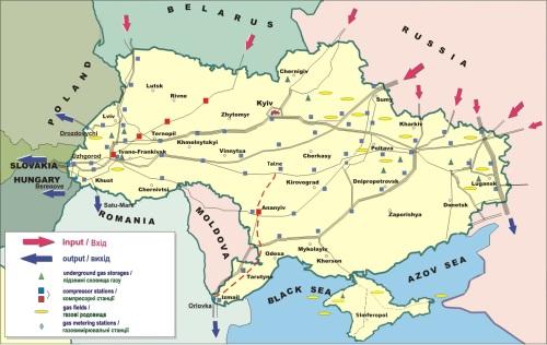 Jeśli punkty odbioru rosyjskiego gazu zostaną przesunięte na wschód, państwa europejskie będą negocjować tranzyt przez Ukrainę z Ukrtransgazem a nie Gazpromem. Jeśli Kijów zdecyduje się na taki ruch a Europa pójdzie na taki układ.