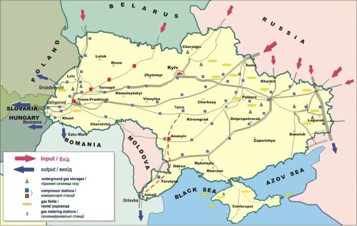 Ukraina przetrwała zimę bez wojny gazowej.