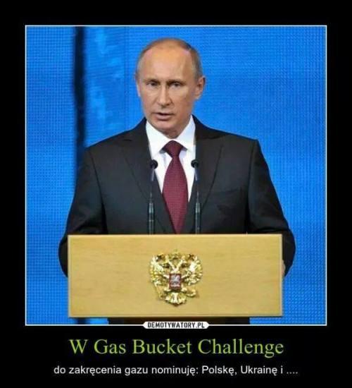Gas Bucket Challenge - accepted. Poland won!