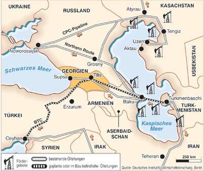 Gazociąg Transkaspijski może być ważnym uzupełnieniem Korytarza Południowego