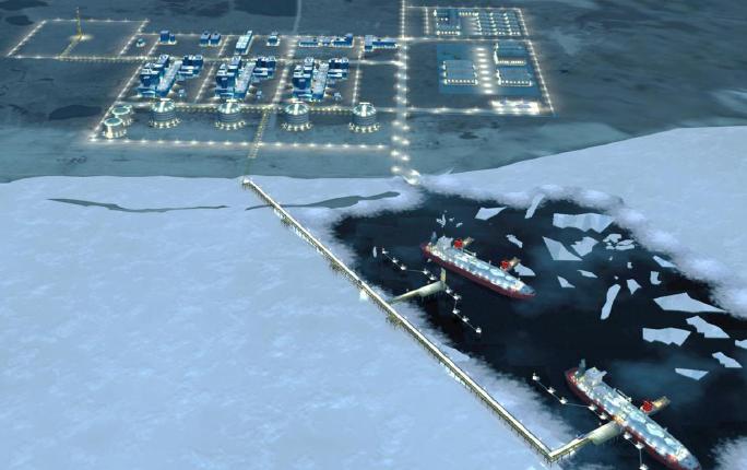 Naftogaz przekazał Gazpromowi dopłatę za gaz. Gazprom chce sprzedawać gaz z Jamał LNG doAzji