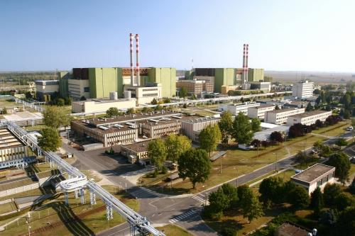 Elektrownia atomowa w węgierskim Paks.