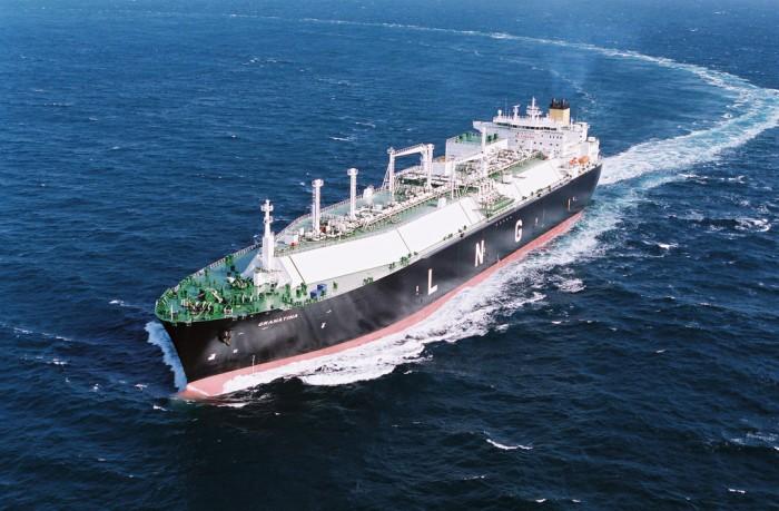 Tankowiec LNG. Fot.: Flickr