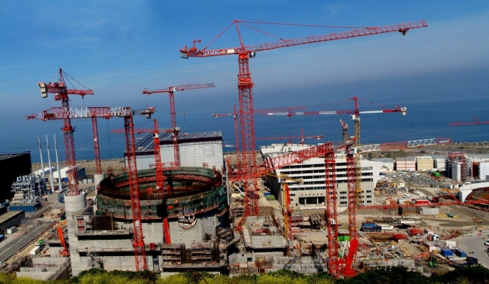 Elektrownia jądrowa Flamanville. Fot. Wikimedia Commons