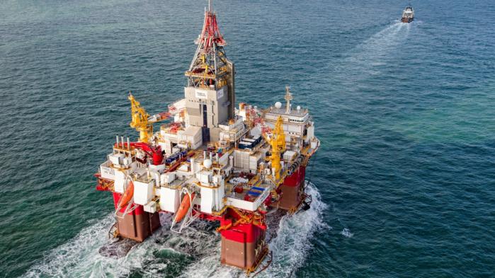 Platforma naftowa Korpfjell Norwegia. Fot. Wikimedia Commons