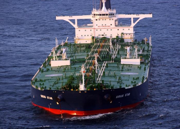 Tankowiec Sirius Star. Fot. Wikimedia Commons