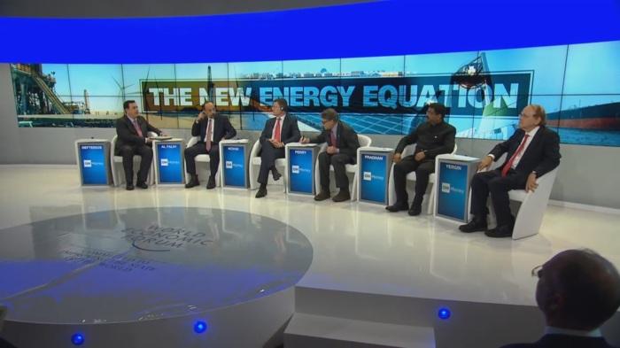 USA, Rosja, Arabia Saudyjska na WEF 2018. Fot.: WEF