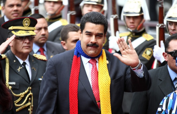 Nicolas Maduro, fot. Flickr
