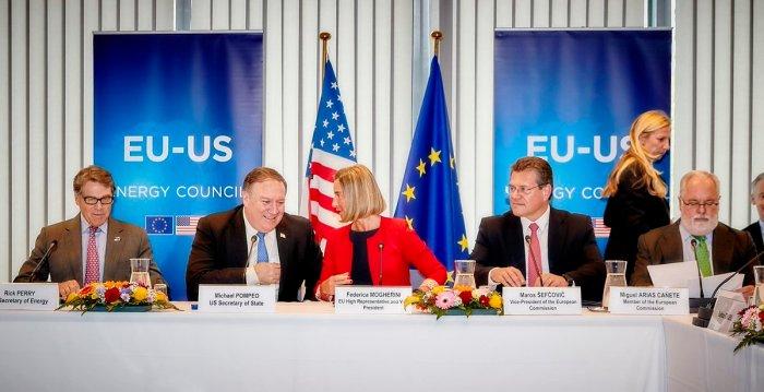 Rada Energetyczna UE-USA. Fot.: EEAS