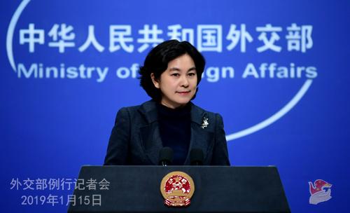 Hua Chunying, rzecznik MSZ Chin. Fot. MSZ Chin