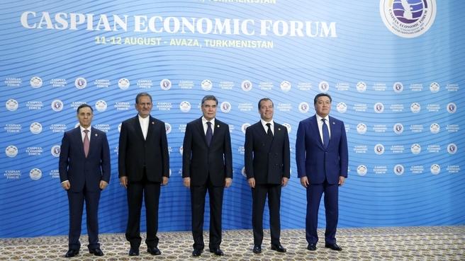 Kaspijskie Forum Ekonomiczne. Fot. Kancelaria Premiera Federacji Rosyjskiej.
