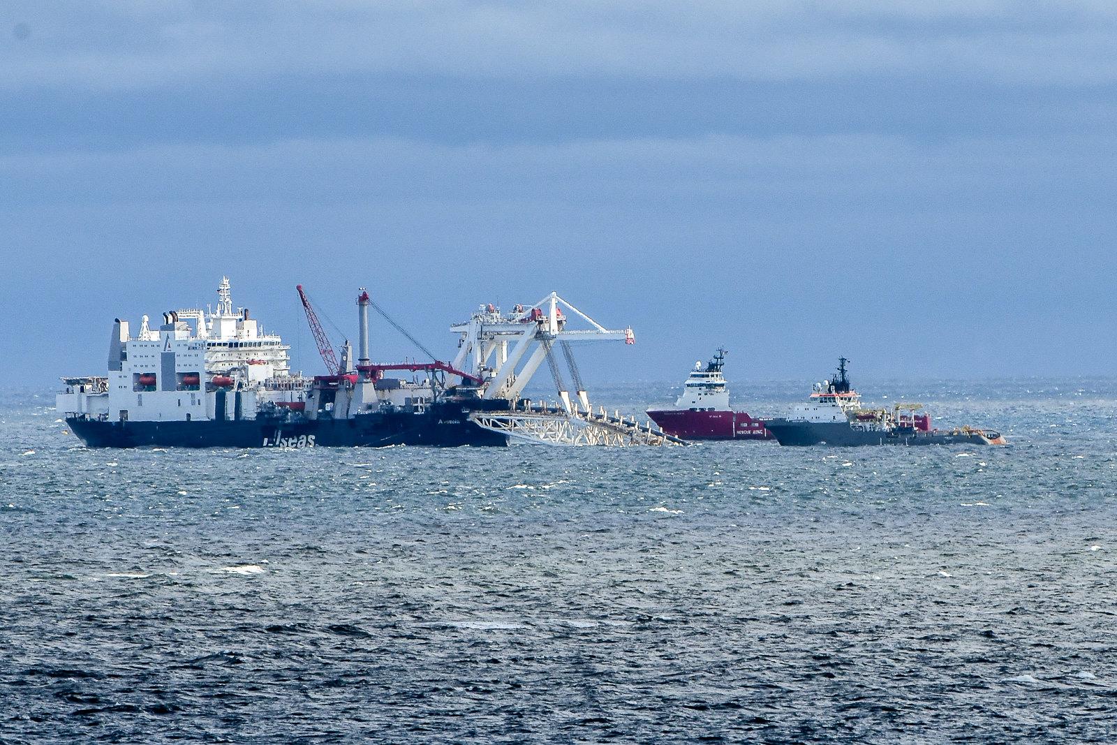 Budowa Nord Stream 2 w Rugii. Fot. Flickr