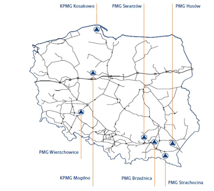 Magazyny gazu w Polsce. Fot. Gas Storage Poland