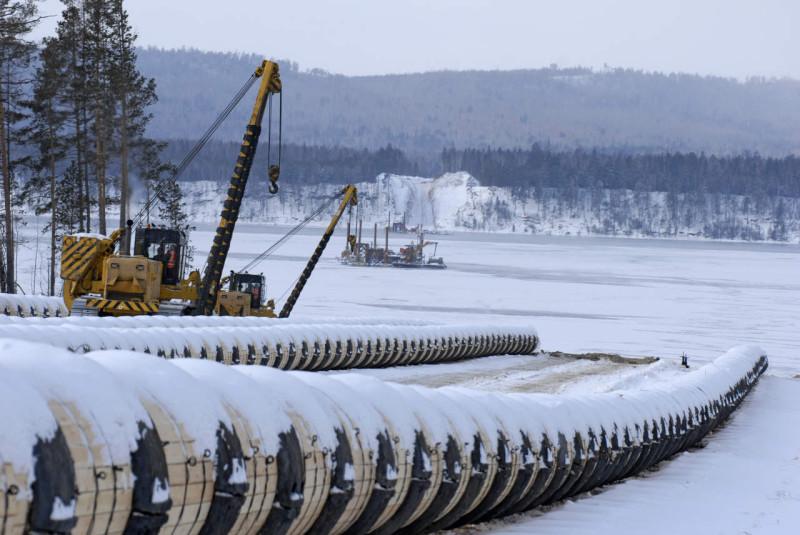 Ropociąg. Fot. Transnieft