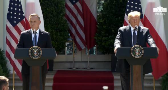 Andrzej Duda i Donald Trump. Fot. Biały Dom
