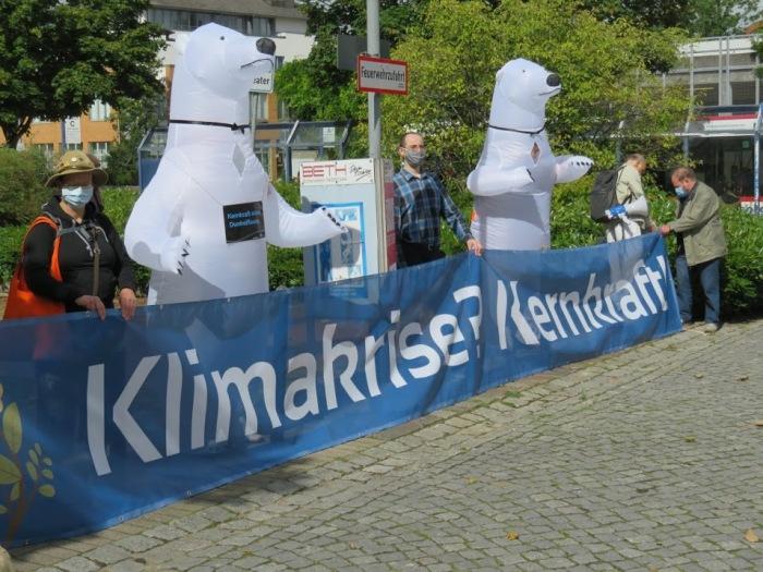 Demonstracja w obronie atomu w Niemczech. Fot. Nuklearia