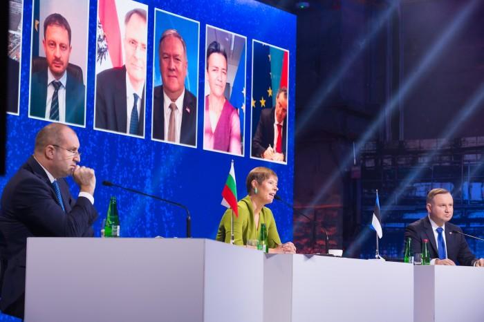 Szczyt Trójmorza w Tallinie. Fot. Three Seas Initiative