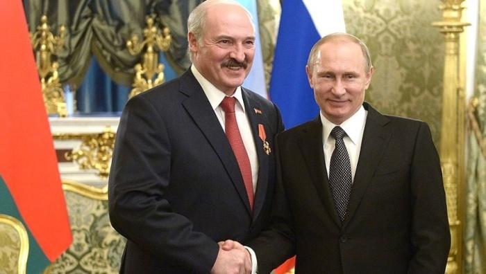 Łukaszenka i Putin. Fot. Kremlin.ru