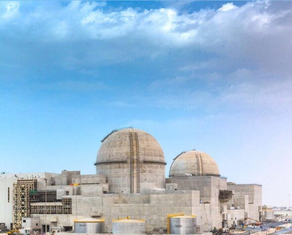 Elektrownia jądrowa Barakah. Fot. Wikimedia Commons
