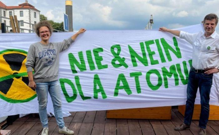Służby ostrzegają, że protest Zielonych przeciwko atomowi w Polsce może mieć ten sam cel coRosjanie