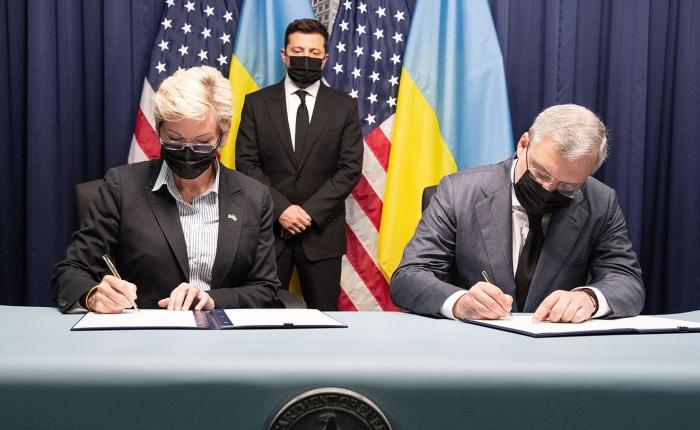 USA pomogą Ukrainie reformować energetykę i dofinansują armię. Kijów chce blokady Nord Stream2